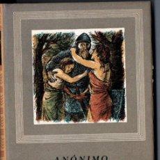 Libros de segunda mano: ANÓNIMO : POEMA DE MIO CID Y CANTAR DE RODRIGO (IBERIA, 1952). Lote 213713710