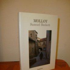 Libros de segunda mano: MOLLOY - SAMUEL BECKETT - LUMEN, MUY BUEN ESTADO. Lote 213746096