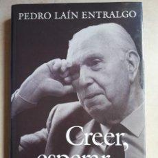 Libros de segunda mano: PEDRO LAÍN ENTRALGO CÍRCULO DE LECTORES. Lote 213825962