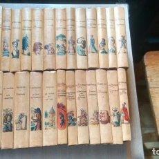 Libros de segunda mano: COLECCION CLASICOS FRANCESES-ALEMANES-ETC- - LOTE DE 27 LIBROS -. Lote 213830940