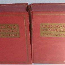 Libros de segunda mano: JULIO CAMBA - OBRAS COMPLETAS - 2 TOMOS - 1948 - PLUS ULTRA. Lote 213861105