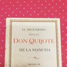 Libros de segunda mano: EL INGENIOSO HIDALGO DON QUIJOTE DE LA MANCHA . ED. ESPECIAL , ALBERTO BLECUA. Lote 214005002