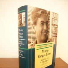 Livres d'occasion: MARIO VARGAS LLOSA: OBRAS COMPLETAS, III: NOVELAS Y TEATRO 1981-1986 (GALAXIA GUTENBERG, 2005). Lote 214044311