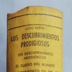 Libros de segunda mano: 5 NOVELAS DE JULIO VERNE (LOS DESCUBRIMIENTOS PRODIGIOSOS) -1958 - ED. M.ARIMANY - PJRB. Lote 214252438