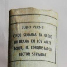 Libros de segunda mano: 4 NOVELAS DE JULIO VERNE (**) -1958 - ED. M.ARIMANY - PJRB. Lote 214253195