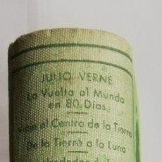 Libros de segunda mano: 4 NOVELAS DE JULIO VERNE (**) - 1956 - ED. M. ARIMANY - PJRB. Lote 214343536