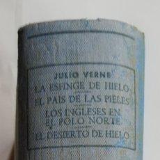 Libros de segunda mano: 4 NOVELAS DE JULIO VERNE (**) - 1956 - ED. M. ARIMANY - PJRB. Lote 214343948