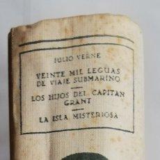 Libros de segunda mano: 3 NOVELAS DE JULIO VERNE (**) - 1955 - ED. M. ARIMANY - PJRB. Lote 214344653