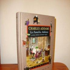 Libros de segunda mano: LA FAMILIA ADDAMS Y OTRAS VIÑETAS DE HUMOR NEGRO - CHARLES ADDAMS - VALDEMAR AVATARES, MUY BUEN EST.. Lote 214357260