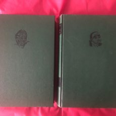 Libros de segunda mano: DON QUIJOTE DE LA MANCHA- 2 TOMOS- EDICIONES NOBEL-AÑO 1999. Lote 214565422