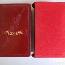 Libros de segunda mano: LIBRERIA GHOTICA. LUJOSA EDICIÓN EN PAPEL BIBLIA DE SHAKESPEARE.1963.OBRAS INMORTALES.CON ESTUCHE.. Lote 214639205