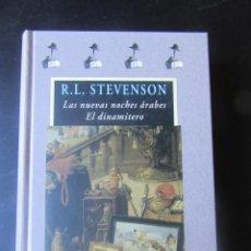 Libros de segunda mano: LAS NUEVAS NOCHES ÁRABES. EL DINAMITERO - ROBERT LOUIS STEVENSON - VALDEMAR - AVATARES. Lote 214991701