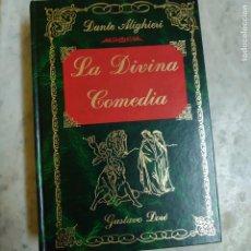 Libros de segunda mano: LA DIVINA COMEDIA, DANTE ALIGHIERI, GRABADOS DE GUSTAVO DORE, EDIMAT, 1988 PRPM 27. Lote 215023243