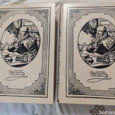 Libros de segunda mano: DON QUIJOTE DE LA MANCHA. EDICIONES RUEDA 1998. MUY BIEN. COMPLETA DOS TOMOS. Lote 216839333