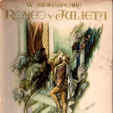 Libros de segunda mano: SHAKESPEARE : ROMEO Y JULIETA ILUSTRADO POR FREIXAS (MESEGUER, 1944) INTONSO. Lote 216871525