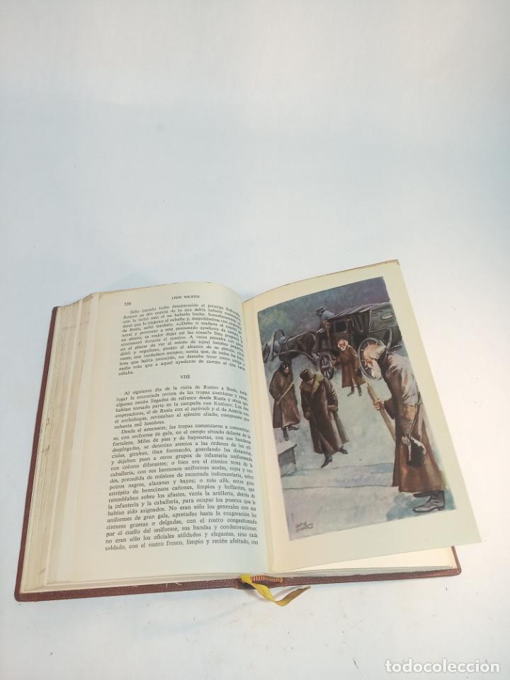 Libros de segunda mano: La guerra y la paz. Leon Tolstoi. 2 tomos. Editorial Vergara. Barcelona. 1963. - Foto 3 - 217020657