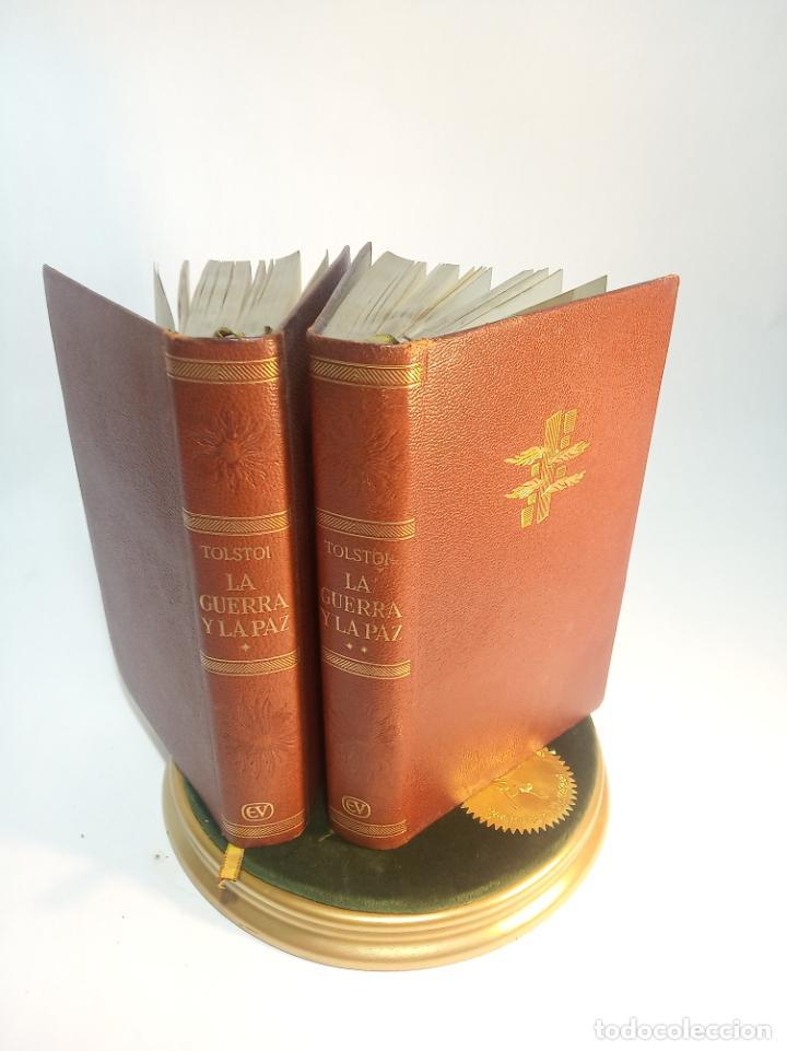 LA GUERRA Y LA PAZ. LEON TOLSTOI. 2 TOMOS. EDITORIAL VERGARA. BARCELONA. 1963. (Libros de Segunda Mano (posteriores a 1936) - Literatura - Narrativa - Clásicos)