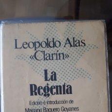 Libros de segunda mano: LA REGENTA - LEOPOLDO ALAS CLARÍN. Lote 217349887