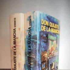 Libros de segunda mano: 1973 - DON QUIJOTE DE LA MANCHA 2 TOMOS PETRONIO - ILUSTRACIONES GUSTAVO DORÉ. Lote 217636845