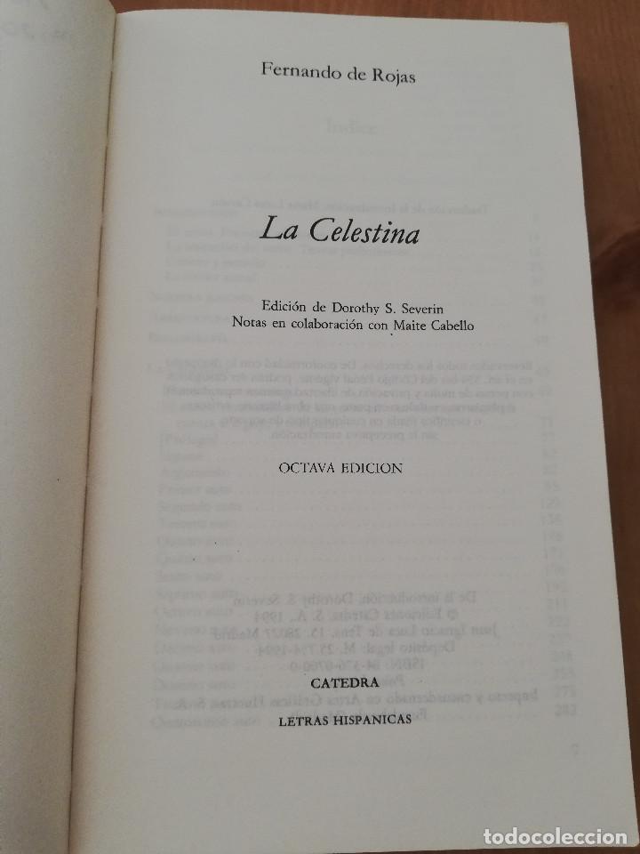 Libros de segunda mano: LA CELESTINA (FERNANDO DE ROJAS) EDICIÓN DE DOROTHY S. SEVERIN - Foto 2 - 217702322