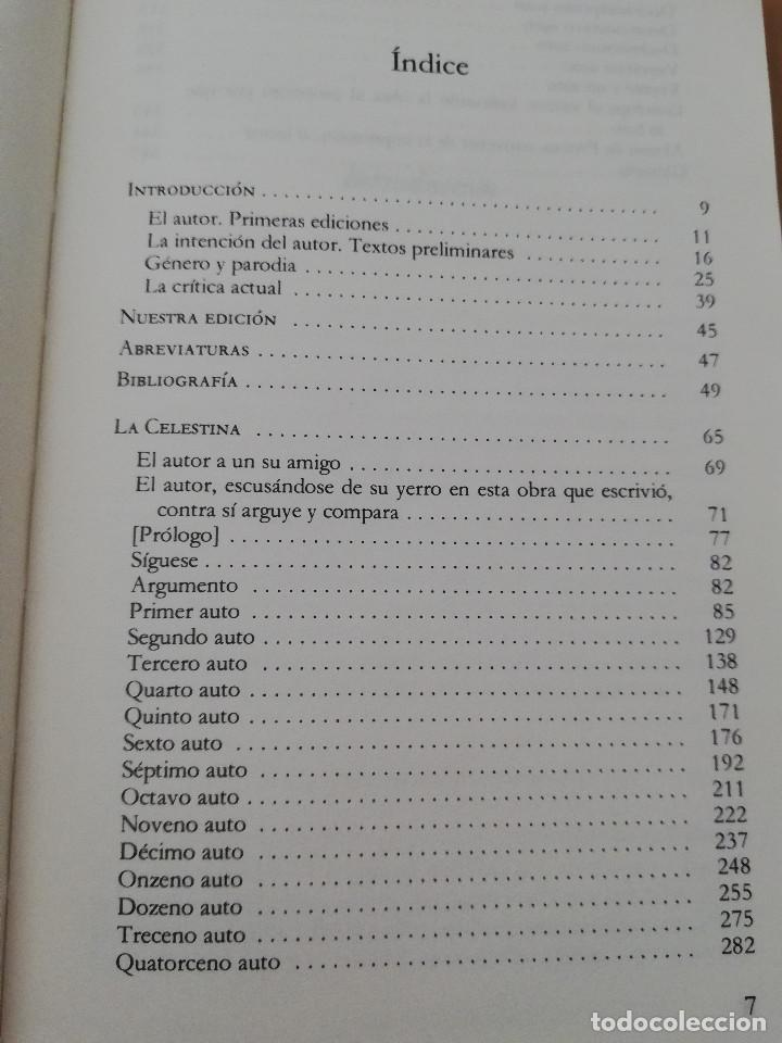 Libros de segunda mano: LA CELESTINA (FERNANDO DE ROJAS) EDICIÓN DE DOROTHY S. SEVERIN - Foto 3 - 217702322