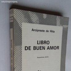 Libros de segunda mano: LIBRO DE BUEN AMOR. ARCIPRESTE DE HITA. COLECCION AUSTRAL Nº 98. TDK500. Lote 218018856