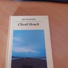 Libros de segunda mano: CHESIL BEACH, IAN MCEWAN, 2008. Lote 218325810
