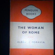 Libros de segunda mano: THE WOMAN OF ROME . ALBERTO MORAVIA.. Lote 218348282