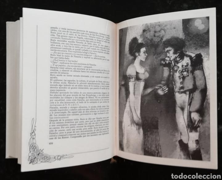 Libros de segunda mano: GUERRA Y PAZ - 1971 - LEÓN TOLSTOI - ED. NAUTA - DOS VOLÚMENES CON ESTUCHE - ILUSTRADO - Foto 3 - 218544497