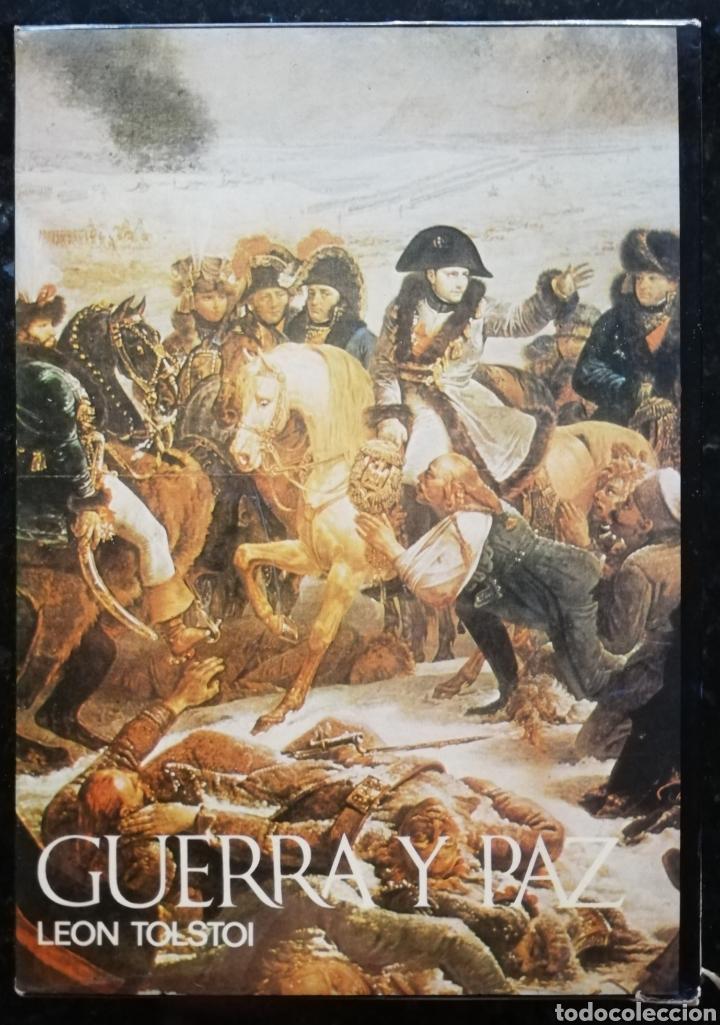Libros de segunda mano: GUERRA Y PAZ - 1971 - LEÓN TOLSTOI - ED. NAUTA - DOS VOLÚMENES CON ESTUCHE - ILUSTRADO - Foto 7 - 218544497