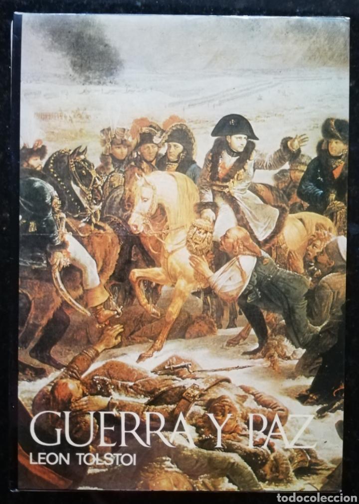 GUERRA Y PAZ - 1971 - LEÓN TOLSTOI - ED. NAUTA - DOS VOLÚMENES CON ESTUCHE - ILUSTRADO (Libros de Segunda Mano (posteriores a 1936) - Literatura - Narrativa - Clásicos)