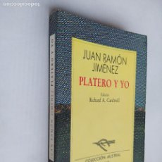 Libros de segunda mano: PLATERO Y YO. JUAN RAMON JIMENEZ. COLECCIÓN AUSTRAL Nº 58. ESPASA CALPE. TDK518. Lote 218544876