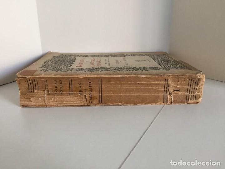 Libros de segunda mano: BIBLIOTECA DE AUTORES ESPAÑOLES. TOMO I. OBRA DE MIGUEL DE CERVANTES SAAVEDRA. ED. ATLAS. 1943. - Foto 3 - 218570238