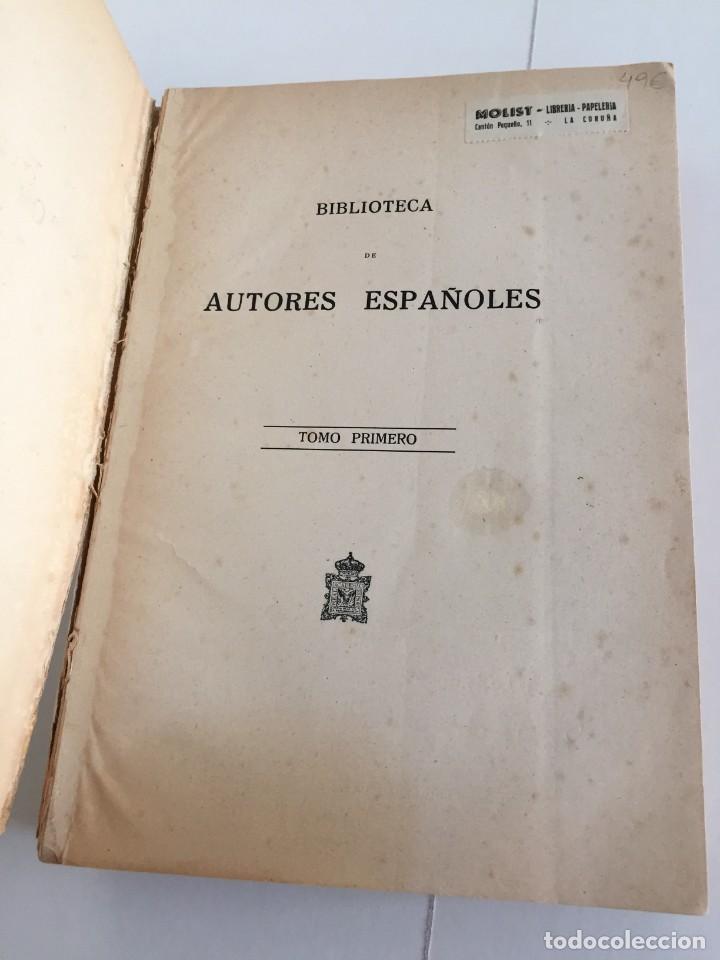 Libros de segunda mano: BIBLIOTECA DE AUTORES ESPAÑOLES. TOMO I. OBRA DE MIGUEL DE CERVANTES SAAVEDRA. ED. ATLAS. 1943. - Foto 6 - 218570238