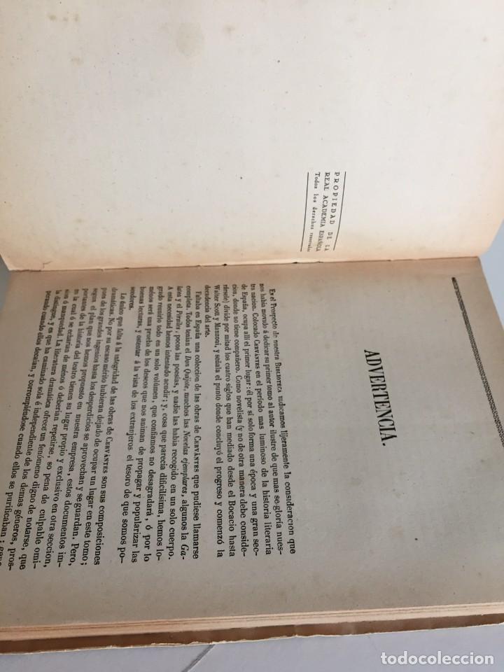 Libros de segunda mano: BIBLIOTECA DE AUTORES ESPAÑOLES. TOMO I. OBRA DE MIGUEL DE CERVANTES SAAVEDRA. ED. ATLAS. 1943. - Foto 10 - 218570238