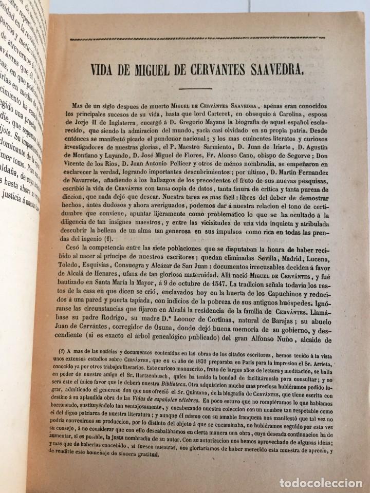 Libros de segunda mano: BIBLIOTECA DE AUTORES ESPAÑOLES. TOMO I. OBRA DE MIGUEL DE CERVANTES SAAVEDRA. ED. ATLAS. 1943. - Foto 11 - 218570238