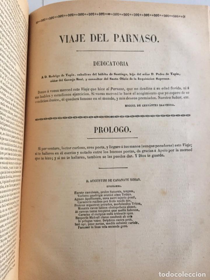 Libros de segunda mano: BIBLIOTECA DE AUTORES ESPAÑOLES. TOMO I. OBRA DE MIGUEL DE CERVANTES SAAVEDRA. ED. ATLAS. 1943. - Foto 19 - 218570238