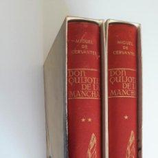 Libros de segunda mano: DON QUIJOTE DE LA MANCHA (DOS TOMOS) - MIGUEL DE CERVANTES - EDITORIAL ESPASA-CALPE - MADRID (1966). Lote 218766971