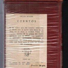Libros de segunda mano: OSCAR WILDE : CUENTOS (AGUILAR CRISOL) AÚN PRECINTADO. Lote 218950481