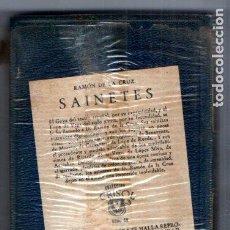 Libros de segunda mano: RAMON DE LA CRUZ : SAINETES (AGUILAR CRISOL) AÚN PRECINTADO. Lote 218950738