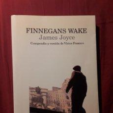 Libros de segunda mano: FINNEGANS WAKE, DE JAMES JOYCE. VICTOR POZANCO. LUMEN. EXCELENTE ESTADO. Lote 219660952