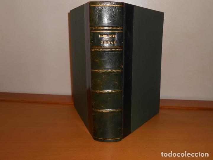 EXCELENTE ENCUADERNACIÓN ARTESANAL · ARMANDO PALACIO VALDÉS , OBRAS 1º DE 2, AGUILAR 1956,6ª EDICIÓN (Libros de Segunda Mano (posteriores a 1936) - Literatura - Narrativa - Clásicos)