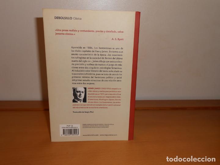 Libros de segunda mano: LAS BOSTONIANAS. HENRY JAMES /TRAD, SERGIO PITOL - DEBOLS!LLO CLÁSICA - Foto 3 - 219828390