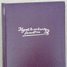 Libros de segunda mano: MIGUEL DE CERVANTES, OBRAS COMPLETAS - 2003 - DON QUIJOTE~12 NOVELAS EJEMPLARES - ED. AGUILAR - PJRB. Lote 220649075