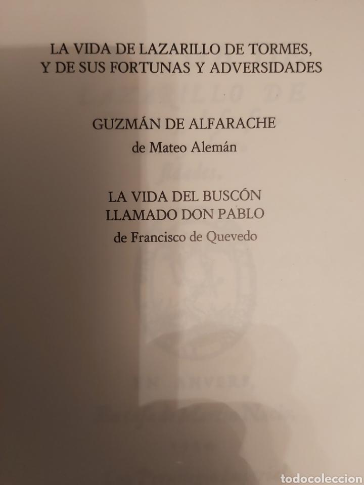 Libros de segunda mano: NOVELA PICARESCA ESPAÑOLA. ed 1982 - Foto 4 - 220693997