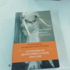 Libros de segunda mano: FORTUNATA Y JACINTA - BENITO PÉREZ GALDÓS - CLÁSICOS ESPASA -(M12). Lote 220934147