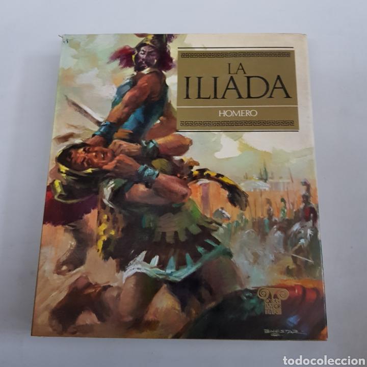 LA ILIADA - HOMERO - OBRAS INMORTALES - TDK494 (Libros de Segunda Mano (posteriores a 1936) - Literatura - Narrativa - Clásicos)