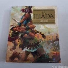 Libros de segunda mano: LA ILIADA - HOMERO - OBRAS INMORTALES - TDK494. Lote 220999573