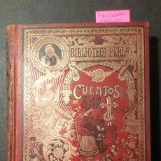 Libros de segunda mano: MÁS CUENTOS ESCOGIDOS - CRISTÓBAL SCHMID - EDITORIAL SATURNINO CALLEJAS. Lote 221088507