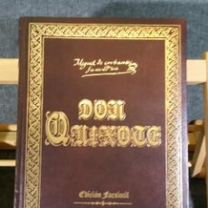 Libros de segunda mano: DON QUIJOTE FACSIMIL 1780 4 TOMOS. Lote 221228118